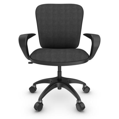 Spinning「black office chair」:スマホ壁紙(19)