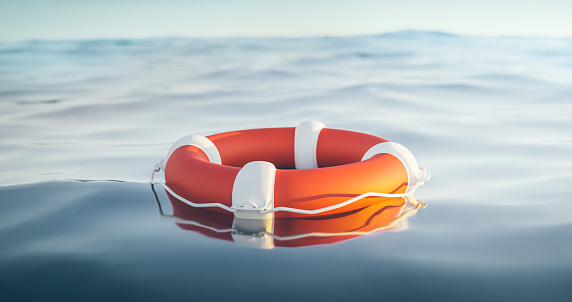 Emergency Services Occupation「Lifebuoy, 3d Render」:スマホ壁紙(1)