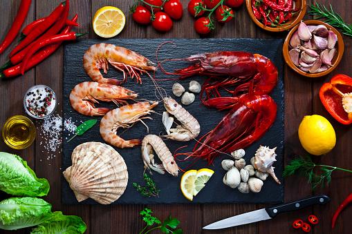 Shrimp - Seafood「Preparing seafood for cooking」:スマホ壁紙(19)