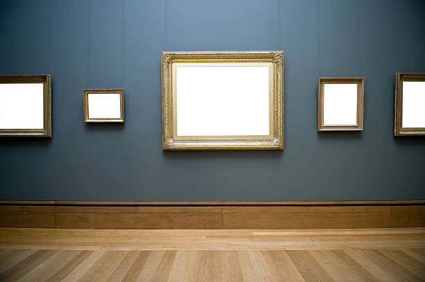 Empty frame on wall:スマホ壁紙(壁紙.com)