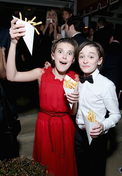 Noah Schnapp「The Weinstein Company & Netflix's 2017 SAG After Party in partnership with Absolut Elyx」:写真・画像(0)[壁紙.com]
