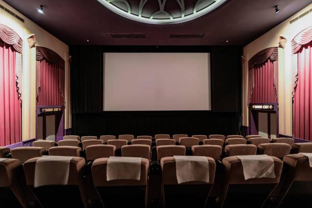 Modern Movie Thearter Cinema:スマホ壁紙(壁紙.com)