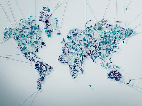 Complexity「World Map Lines」:スマホ壁紙(15)