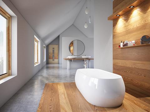 Leisure Games「Modern Bathroom」:スマホ壁紙(8)