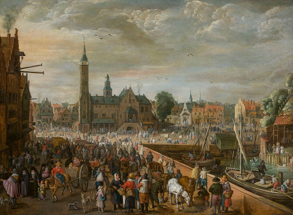 Baroque Style「View Of The Grote Markt In Lier」:写真・画像(15)[壁紙.com]