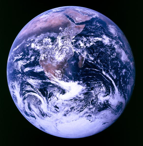 Outer Space「Earth Viewed From Apollo 17」:写真・画像(10)[壁紙.com]
