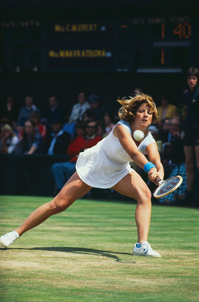 One Young Woman Only「Evert Versus Navratilova」:写真・画像(16)[壁紙.com]