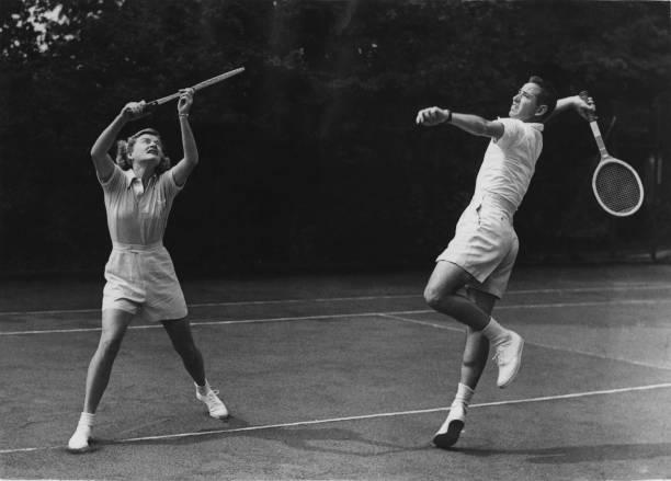 Two People「American Tennis Stars」:写真・画像(10)[壁紙.com]