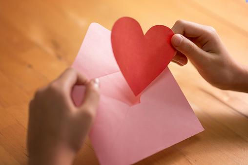Writing「love letter」:スマホ壁紙(5)