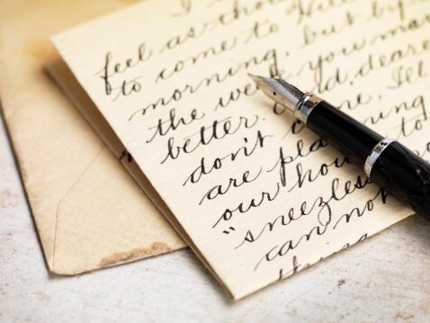 Writing「Love letter」:スマホ壁紙(13)