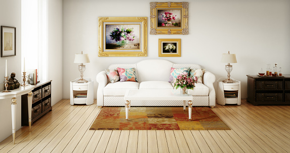 Night Table「Stylish Living Room」:スマホ壁紙(19)