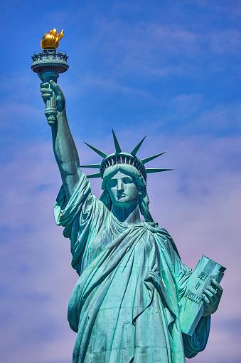 Liberty Island「The Statue of Liberty,Liberty Island,New York,USA」:スマホ壁紙(6)