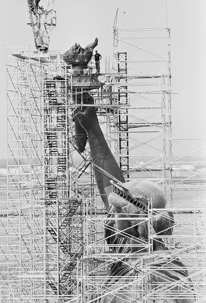 Restoring「Statue of Liberty Restoration Project」:写真・画像(9)[壁紙.com]