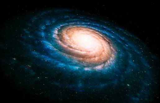 Galaxy「Spiral galaxy」:スマホ壁紙(6)