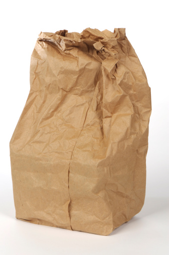 Inexpensive「Paper lunch bag - Grunge」:スマホ壁紙(13)
