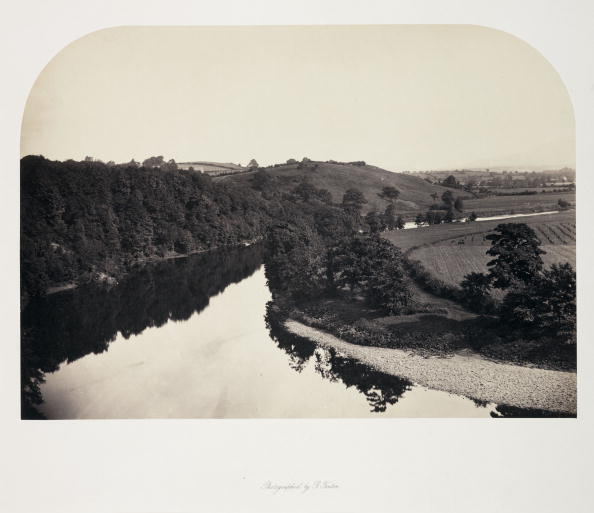 Superb view「View on the Ribble, Yorkshire, c 1858.」:写真・画像(12)[壁紙.com]