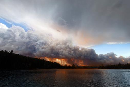 Destruction「Pagami Creek Wildfire」:スマホ壁紙(9)