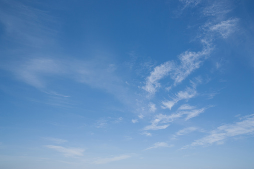 Cloud - Sky「Blue sky with clouds」:スマホ壁紙(16)