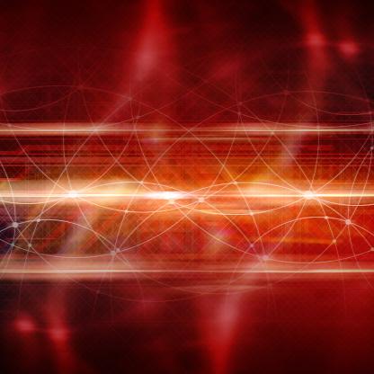 Quantum Computing「Information highway. processing. Conceptual artwork.」:スマホ壁紙(5)