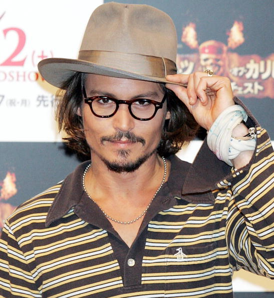 """Goatee「Johnny Depp Promotes """"Pirates Of The Caribbean: Dead Man's Chest"""" In Tokyo」:写真・画像(1)[壁紙.com]"""