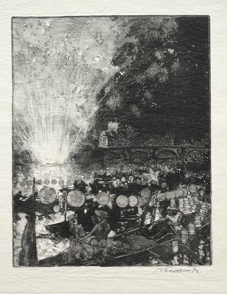1900「Fête Venitienne. Creator: Auguste Louis Lepère (French」:写真・画像(2)[壁紙.com]