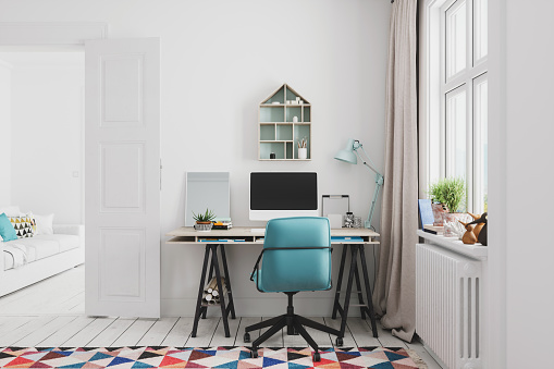 House「Home Office Interior」:スマホ壁紙(10)