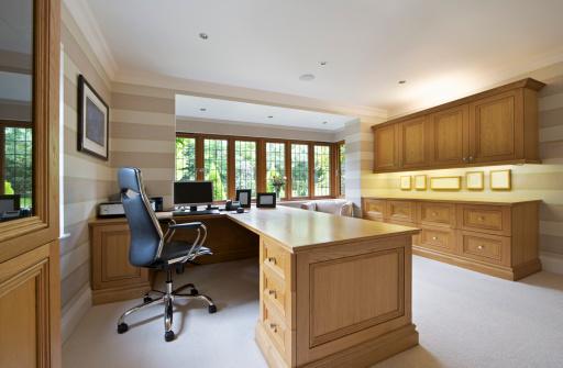 Carpentry「home office in light oak」:スマホ壁紙(11)
