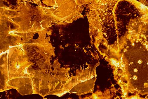 Inferno「Golden Fractals - Solar Flare Background」:スマホ壁紙(14)