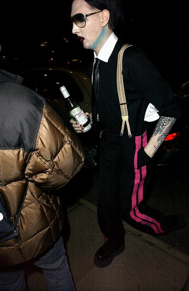 Marilyn - British Singer「Manson Album Release Party」:写真・画像(12)[壁紙.com]