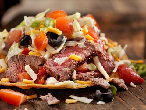 Taco「Steak and Cheese Tostada」:スマホ壁紙(11)