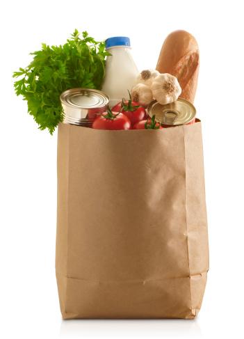 Brown Paper「Paper Grocery Bag」:スマホ壁紙(10)