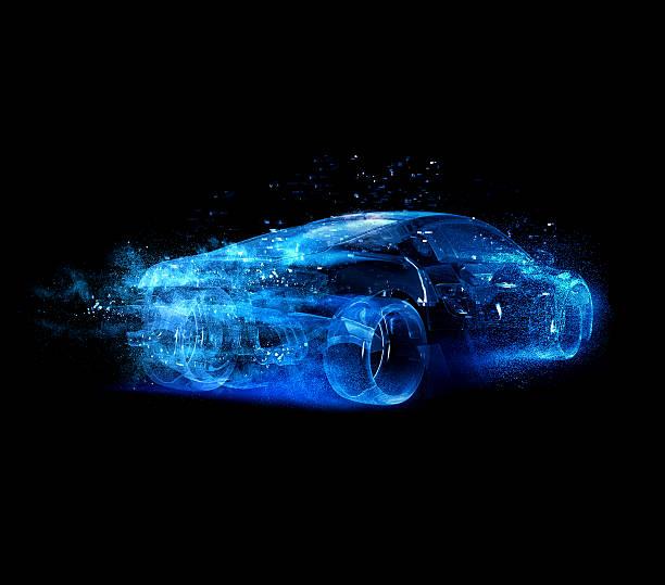 Car glass blue:スマホ壁紙(壁紙.com)