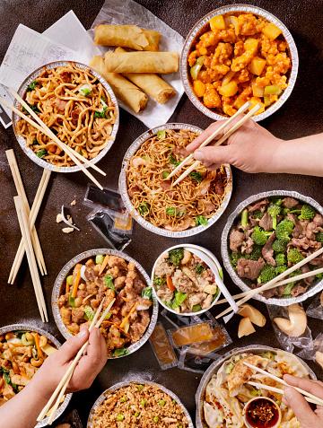 Chinese Dumpling「Chinese Take Out」:スマホ壁紙(13)