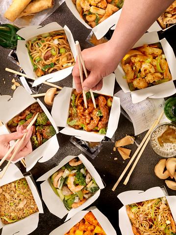 Chinese Dumpling「Chinese Take Out」:スマホ壁紙(11)