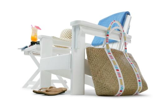 Deck Chair「Vacation Time」:スマホ壁紙(2)