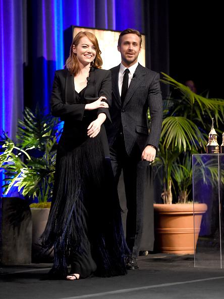 Santa Barbara International Film Festival「The 32nd Santa Barbara International Film Festival - Outstanding Performers: Ryan Gosling and Emma Stone Presented by Belvedere」:写真・画像(9)[壁紙.com]