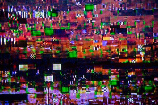 Problems「Digital television interference pattern」:スマホ壁紙(16)