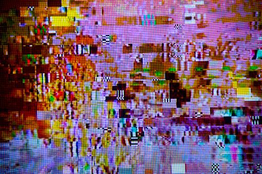 Chaos「Digital Television Interference Pattern」:スマホ壁紙(4)