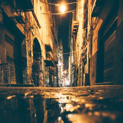Alley「Backstreet reflections.」:スマホ壁紙(5)