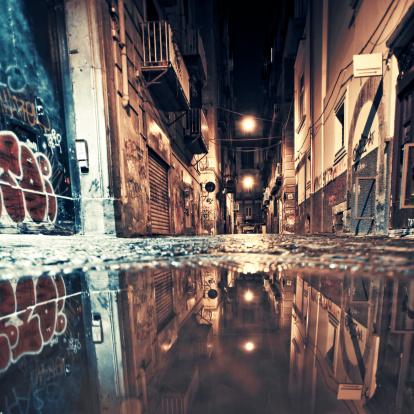 Alley「Backstreet reflections.」:スマホ壁紙(12)