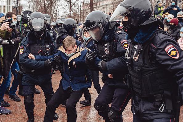 Russia「Demonstrations Follow Navalny Detention」:写真・画像(5)[壁紙.com]