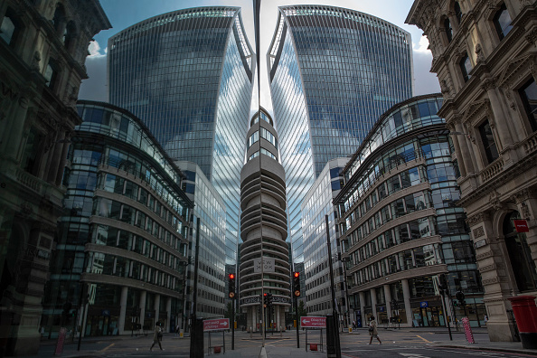 City of London「UK Government Urges Employees To Return To The Workplace」:写真・画像(7)[壁紙.com]