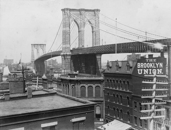 1880-1889「Brooklyn Bridge」:写真・画像(7)[壁紙.com]