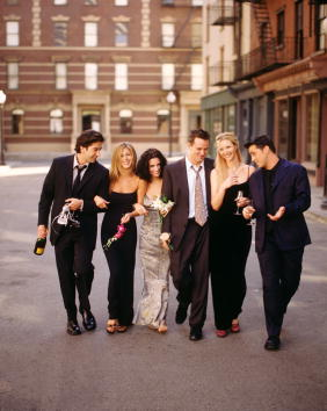 Television Show「Friends Television Stills Television」:写真・画像(1)[壁紙.com]