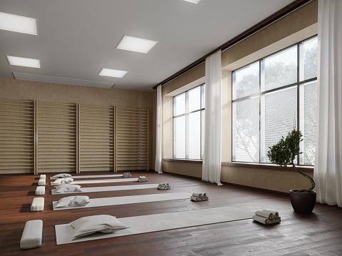 Spirituality「Yoga studio workplace」:スマホ壁紙(13)
