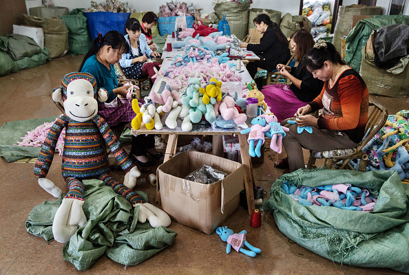 Stuffed「Toy Factories In China Face Slowdown」:写真・画像(18)[壁紙.com]