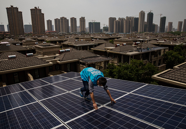 Environment「Solar Power Looks to Expand In China's Growing Cities」:写真・画像(17)[壁紙.com]