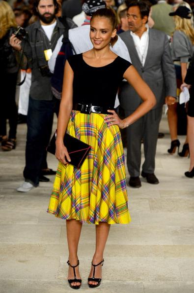 Yellow「Ralph Lauren - Front Row - Spring 2013 Mercedes-Benz Fashion Week」:写真・画像(10)[壁紙.com]