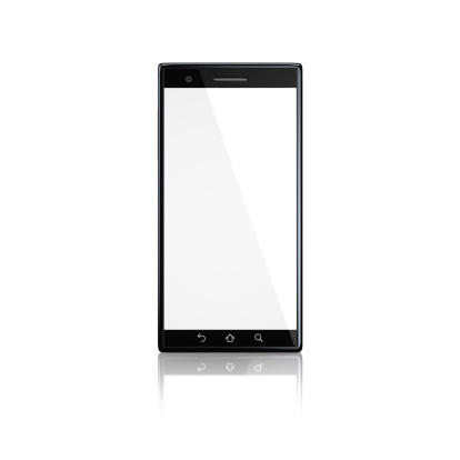 Touch Screen「Smartphone with blank screen - front」:スマホ壁紙(5)
