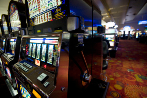 Gambling「Slotmachines in Stratosphere Casino」:スマホ壁紙(0)